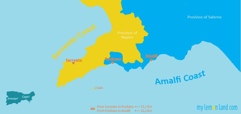 Sorrento Amalfi Coast_Map