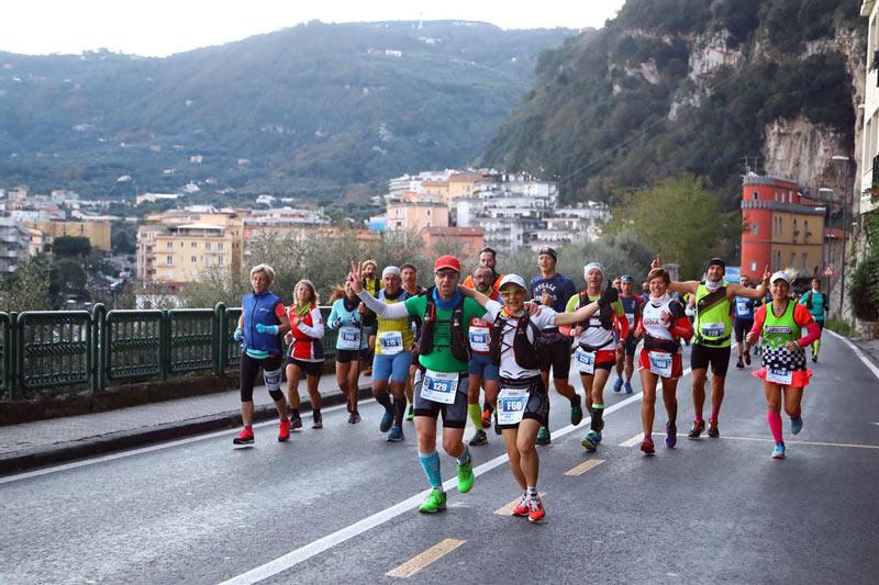 Maratone Sorrento Napoli 2018